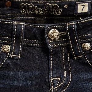 Miss Me Bottoms - Miss Me Jeans size 7